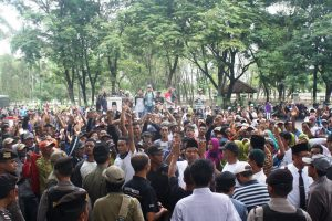 Warga Sidoharjo Demo ke DPRD, Tuntut Pilkades Ulang